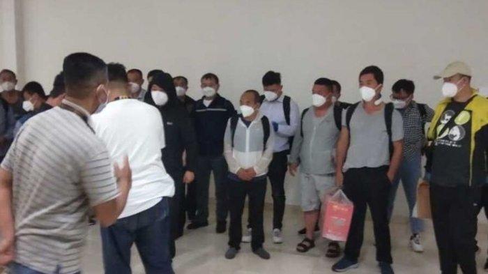Setelah Heboh Minta Vaksin, Kini Kabar 20 TKA China Masuk Sulawesi Saat PPKM Darurat Jadi Sorotan