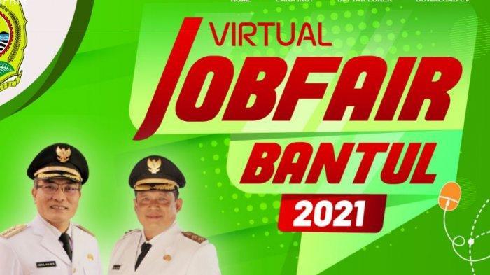 2000 Lowongan Pekerjaan di Job Fair Virtual yang Digelar Kabupaten Bantul, Klik di Sini Jika Minat