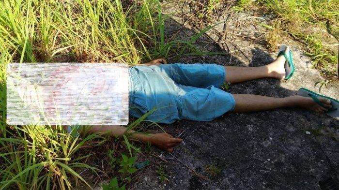 Penemuan Mayat di Eks SMKK Belitung Heboh, Kondisi Mengenaskan Baju Berdarah, Ada Tiga Tusukan