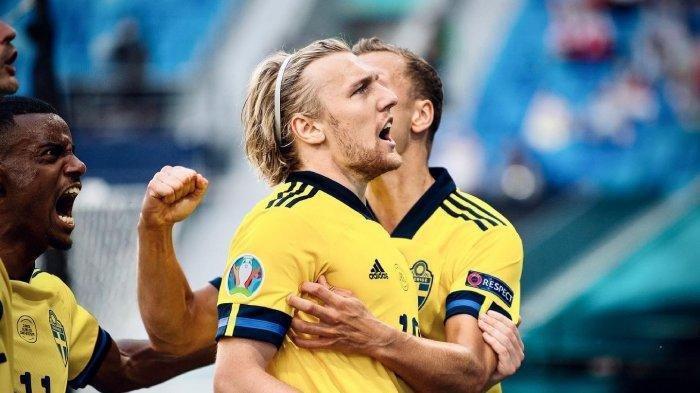 Gol Tercepat Emil Forsberg Catat Waktu 1 Menit 22 Detik, Laga Swedia Menang 3-2 Atas Polandia