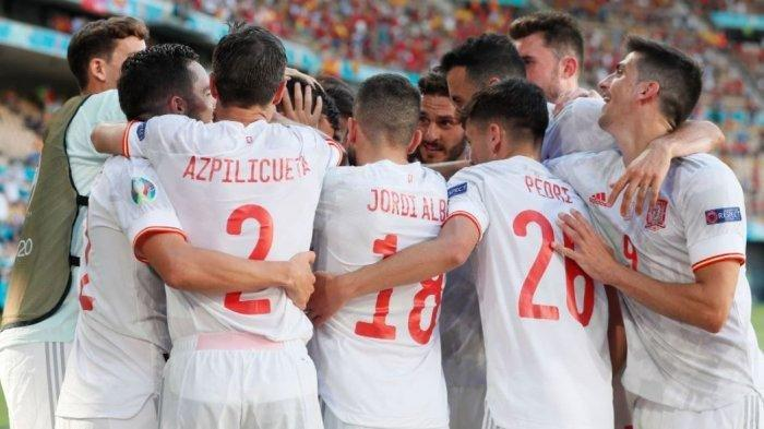Kantongi 5 Poin Langkah Spanyol ke 16 Besar Euro, Enrique Apresias Kerja Keras Pemain