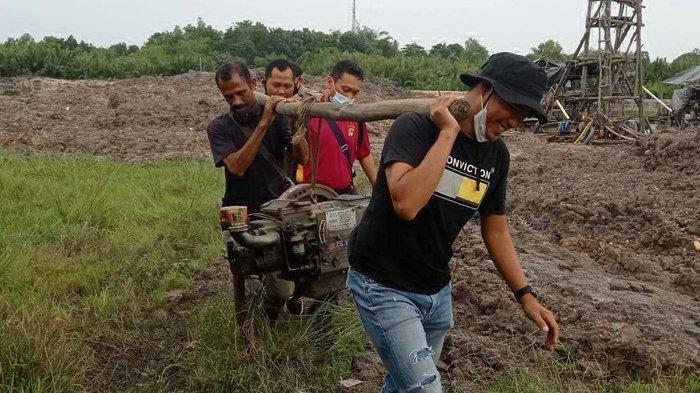 Tim Gabungan Amankan 19 Pekerja TI Ilegal, Penertiban di Kawasan Kolong Koboy Pangkalpinang