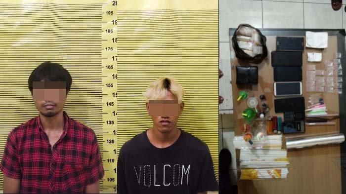 Polisi Grebek Rumah Digunakan Untuk Nyabu, Dua Pengedar Ditangkap dan Bandar Kabur