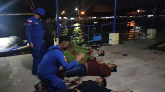 Detik-detik ABK KMP Musi 1 Hilang di Tanjung Kalian Muntok, Jatmiko Hilang Ditelan Ombak