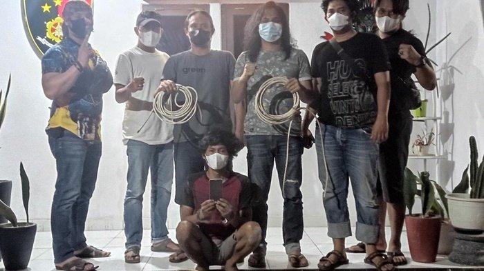 Pemuda di Pangkalpinang Ini Curi Kabel AC Masjid, Bikin Lubang Bunker untuk Sembunyi dari Polisi