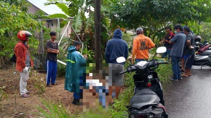 Diduga Korban Kecelakaan Tunggal, Pria di Belitung Tewas Tertimpa Motor, Reno Kaget Rumahnya Ramai