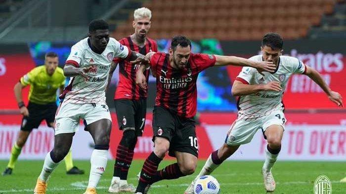 AC Milan Hanya Bawa 1 Poin, Bermain Imbang 0-0 Ditahan Cagliari, Gagal Bawa 1 Tiket Liga Champions