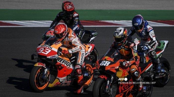 Race MotoGP Diawali Moto3 dan Moto2, MotoGP Pukul 19.00 WIB, Marquez Miliki Peluang Meraih Podium