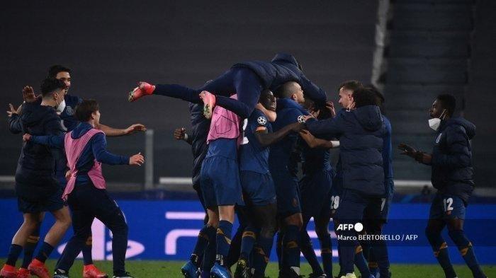 Porto Dan Borussia Melaju Perempat Final, Hasil Agregat Gol 4-4 Juventus Tersisih