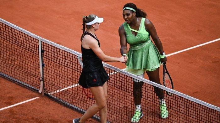 Pemain Unggulan Serena Tumbang Ditangan  Elena Rybakina, Hanya Bertahan Di Babak Ketiga