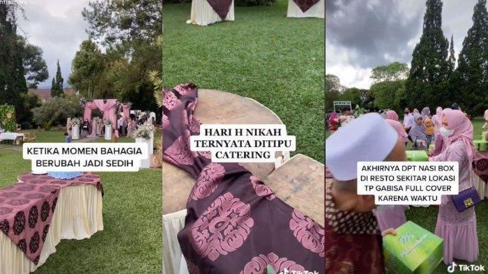 Kisah Pengantin Ditipu Katering saat Pernikahan, Tamu Sudah Berdatangan Meja Makanan Kosong