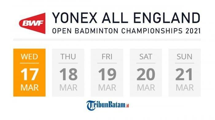 All England Open 2021 Akan Digelar, Wakil Indonesia Mohon Doa dan Dukungan