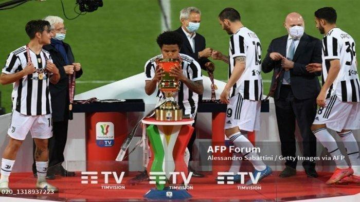 Juventus Meraih Trofi Coppa Italia, Kado Ulang Tahun Andrea Pirlo, Kalahkan Atlanta Skor 2-1