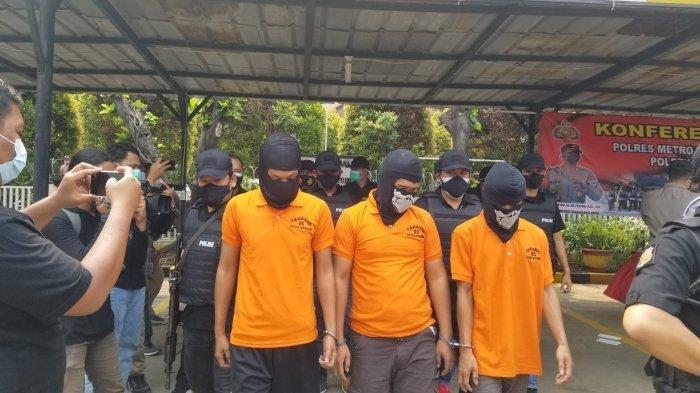 Polisi Ungkap Peredaran Sabu Di Tangerang, Dikendalikan Dari Dalam Lapas, 3 Pelaku Dapat Diringkus
