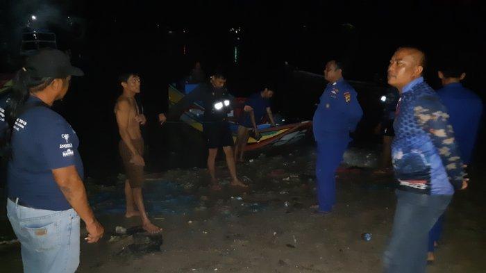 Speed Lidah Pecah di Pantai Matras Bangka, Perantau Asal Sumsel Terombang Ambing