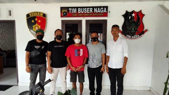 Pelaku Pencurian Diserahkan Keluarga ke Polres Pangkalpinang, Sempat Kabur Selama Beberapa Minggu