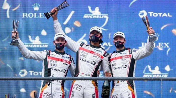 Sean Gelael Pebalap Mobil Raih Prestasi, Podium Ketiga Di Ajang FIA WEC