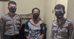Polisi Tangkap Pria Ini Di Lapangan Bola, Buang Barang Bukti Sabu, Disaku Celana Ada Struk Transfer