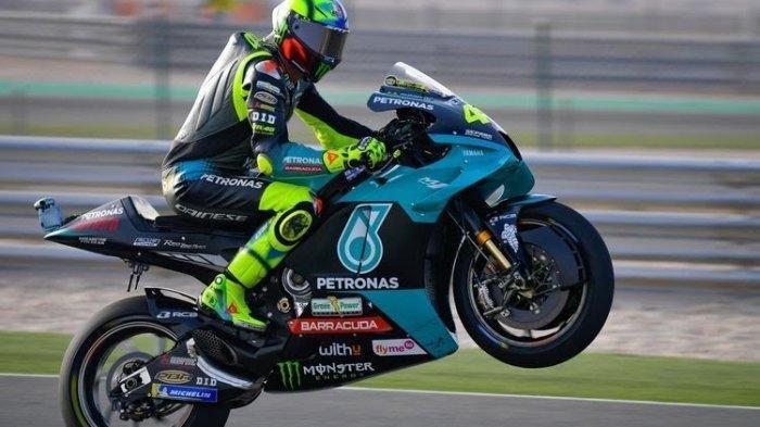 Valentino Gagal Mendulang Poin Di MotoGP Doha, Merasa Tampil Lebih Konsisten