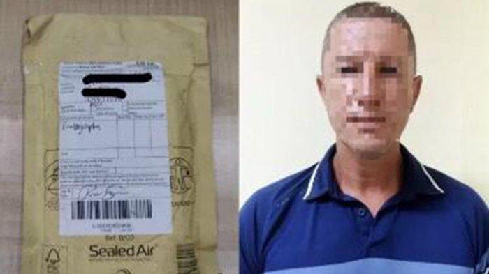 Pria WN Inggris Kelabui Petugas, Kiriman Dibuka Ada Kokain Dan Ekstasi