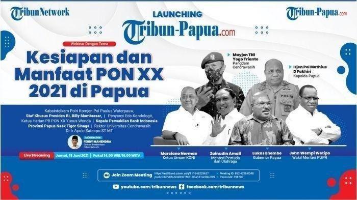 Tribun Network Luncurkan Portal Tribun-Papua.com, Kearifan Lokal Indonesia Timur ke Kancah Nasional