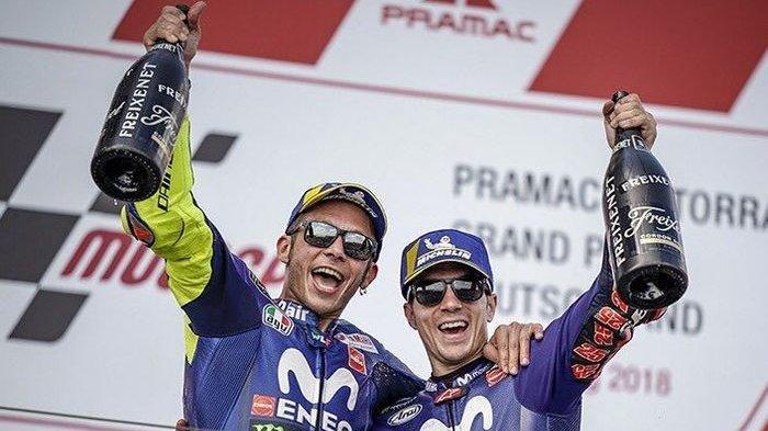 Valentino  Bagian Tak Terpisahkan dari MotoGP  Raih Sembilan Gelar Juara Dunia di Semua Kelas Balap