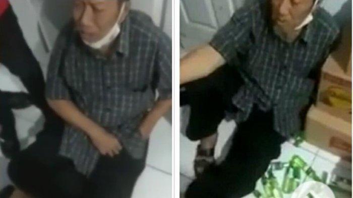 Pemukulan Terhadap Kakek Buat Geram Netizen, Diduga Mencuri Minyak Kayuputih di Minimarket