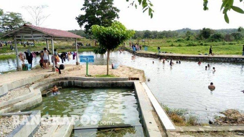 Air Panas Nyelanding, Objek Wisata Alami dan Asri di Bangka Selatan