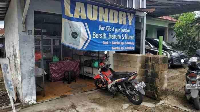 Laundry di Kecamatan Tamansari Kota Pangkalpinang, Cukup Rp 5.000 Baju Anda Kinclong