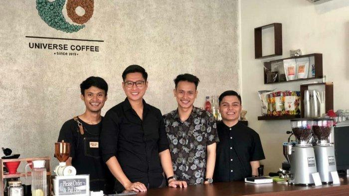 Sukses Berekspansi, Universe Coffee Banjarmasin Berawal Dari Hobi