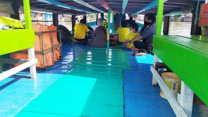 Warga Banjarmasin ini Tiap Minggu Ajak Keluarga Wisata Susur Sungai Martapura