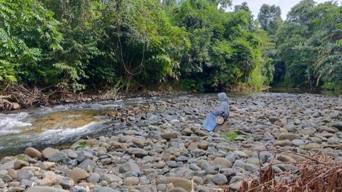 Sungai Atiran Berpantai Kabupaten HST, Akses Mudah Dijangkau Hanya 34 Km dari Kota Barabai