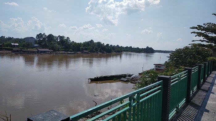 Taman Kota Green Kasongan Kabupaten Katingan, Berlokasi di Bantaran Sungai Katingan