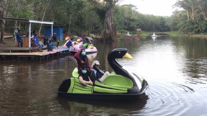 Wisata Kalsel di Balangan Taman Bambu Air Desa Hauwai, Awalnya Tempat Pemandian Kini Objek Wisata
