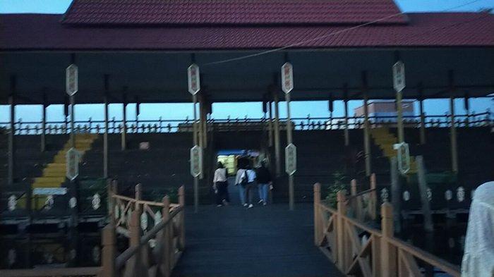 Wisata Kalteng Dermaga Kereng Bengkirai Palangkaraya Kalteng, Dulunya Bekas Pelabuhan Kapal Barang