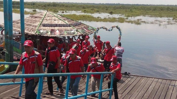 Wisata Kalsel Dermaga Kereng Bengkirai Palangkaraya, Rapat Sambil Menikmati Susur Sungai Sabangau