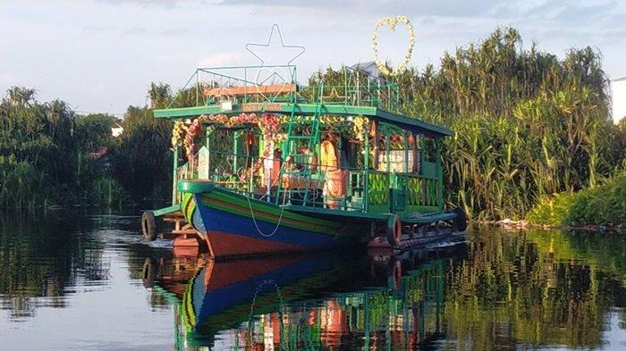 Wisata Kalteng Susur Sungai Kereng Bengkirai Palangkaraya, Lokasinya Mudah Dijangkau Wajib Prokes