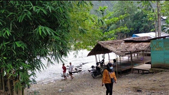 Pesona Alam Desa Nateh Kabupaten HST Bentang Bukit Kapur Menjulang, Ada Fasilitas Lapak dan Musala