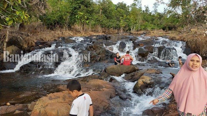 Menikmati Pesona Kesegaran Mandin di Desa Kiram Banjar Kalsel