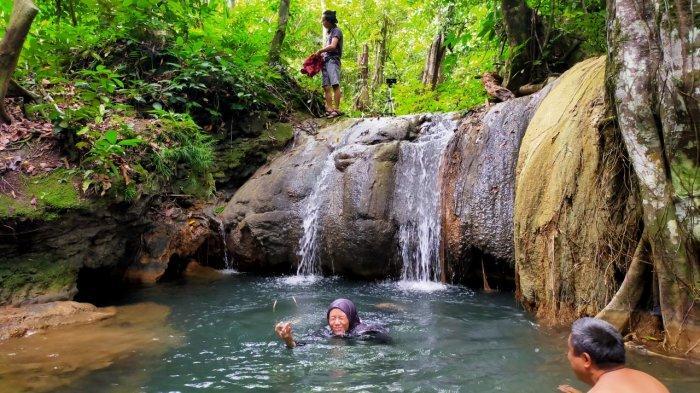 Air Terjun Sidando Desa Puyun Balangan, Wisata Tersembunyi di Tengah Hutan Rimba