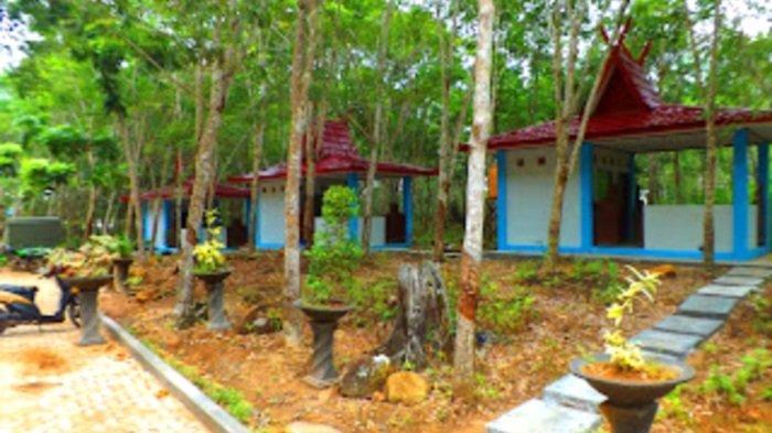 Wisata Kalsel Hutan Meranti Kotabaru, Pengunjung Bisa Lihat Langsung Penangkaran Rusa - banjarmasinposttraveltribunnewscomHelriansyah.jpg