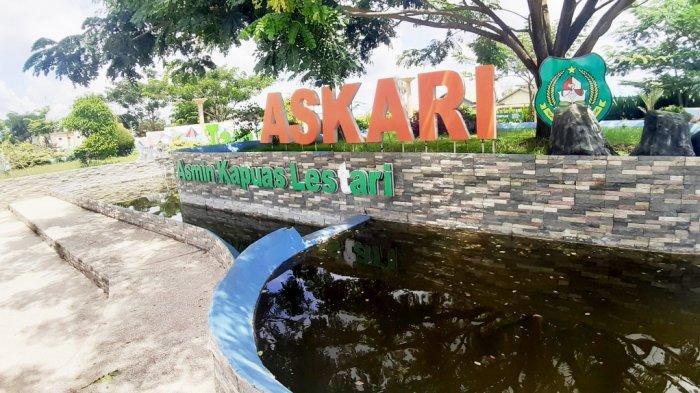 Tempat Orangtua Mengajak Buah Hati Bersantai di Akhir Pekan, inilah Taman Askari di Kota Kapuas