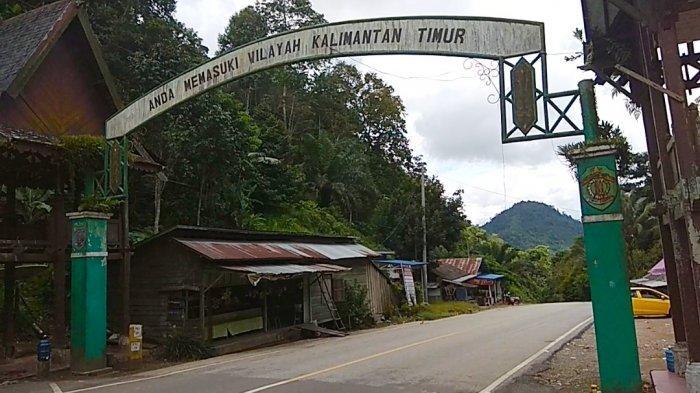 Kawasan Gunung Halat Titik Gerbang Perbatasan Kalsel Kaltim di Desa Lano Kabupaten Tabalong Kalsel