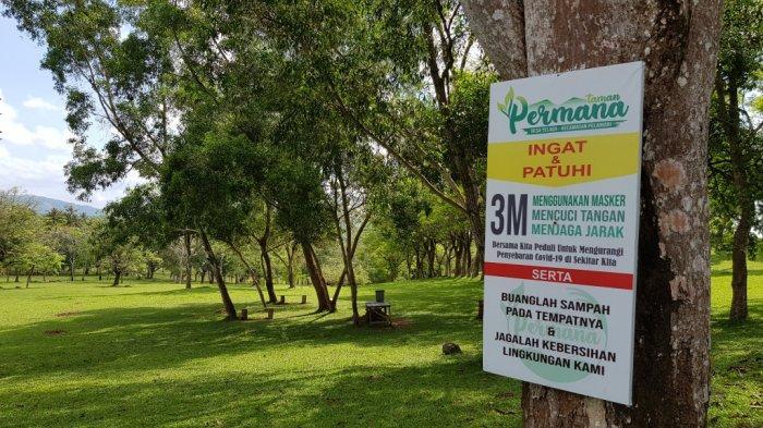 Wisata Kalsel Taman Permana Pelaihari, Sebagian Pengunjung Dirikan Kemah Menginap, Begini Syaratnya