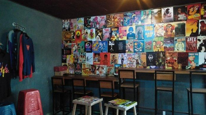 Desain Interior Kinigara Coffee Jadi Spot Foto Favorit ala Anak Muda di Kota Sampit Kalteng