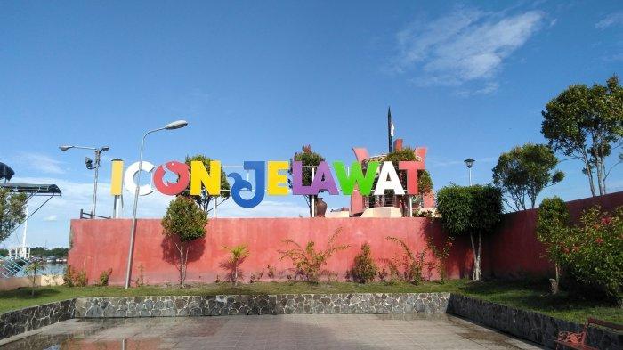 Wisata Ikon Patung Jelawat Kota Sampit, Menikmati Pemandangan Sungai Mentaya dari Pinggiran Wisata
