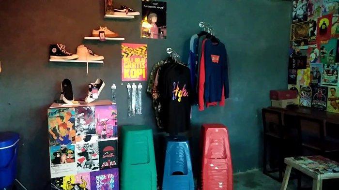 Selain Nongkrong, Pengunjung Kinigara Coffee di Sampit Kalteng Bisa Belanja Pakaian dan Sepatu