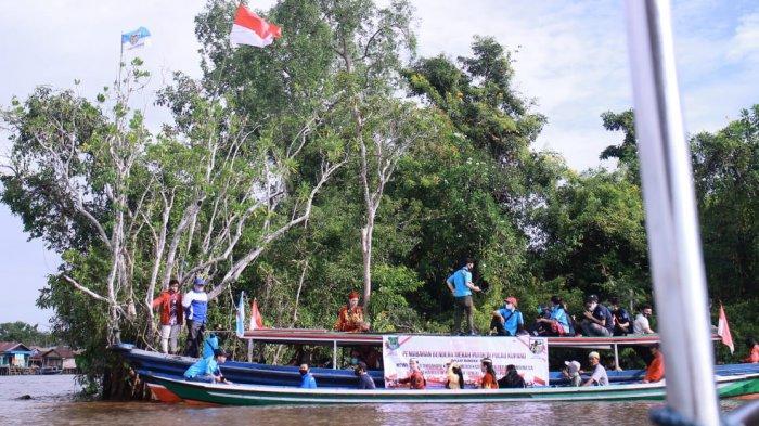 Melihat Potensi Wisata Pulau Kupang Kapuas yang Dihuni Bekantan dan Terletak di Tengah DAS Kapuas