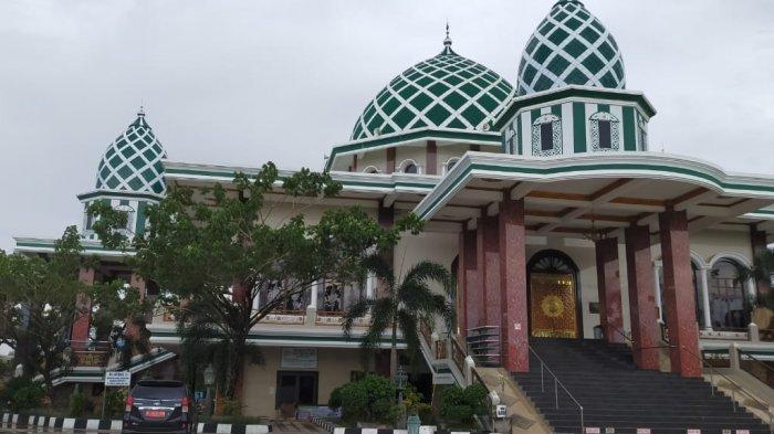 Masjid Jamhuri Aisyah Batola Dibangun oleh Pengusaha Kalsel Kemudian Diresmikan Paman Birin