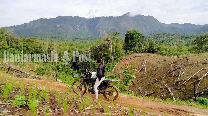Pakai Transportasi Umum ke Air Terjun Tayak di Halong Kabupaten Balangan, Siapa Takut?